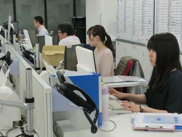 事務処理コンピューターのソフト開発も行っている(写真は本社)