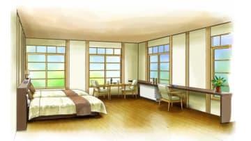 高野下駅「駅舎ホテル」整備イメージ 画像:南海電鉄