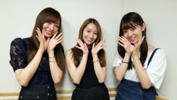 9月1日のコンサートをもってグループから卒業する「乃木坂46」の桜井玲香さん(中央)