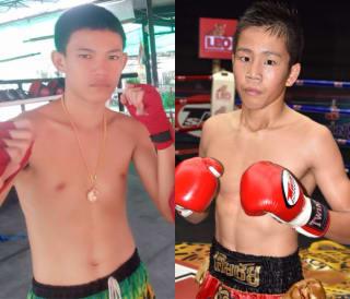 ラジャで2連続KO勝利中の押川(右)。今回の対戦相手ビーエム(左)の情報はまだ入って来ていないという