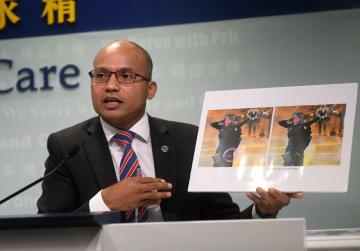 香港で6月以降1614人の警察関係者の個人情報が流出