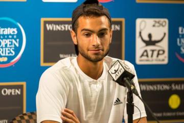 2014年度「ATP250 ウィンストン・セーラム」でのノア・ルビン