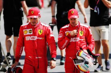 【フェラーリ前半戦評価】F1タイトル候補最右翼のはずが……。焦りが見えるドライバーたちもミスを連発