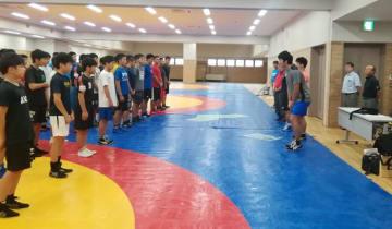 52選手が参加してスタートした全国中学生・男子合宿