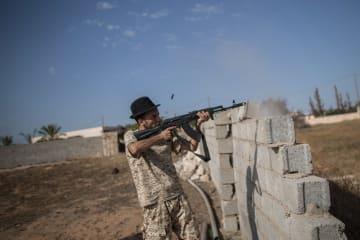内戦が続くリビア