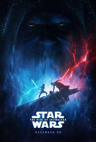 「スター・ウォーズ/スカイウォーカーの夜明け」のUS版ポスター (C) 2019 Lucasfilm Ltd. All Rights Reserved.