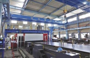 倉庫から転換した工場を生かし加工範囲を拡充