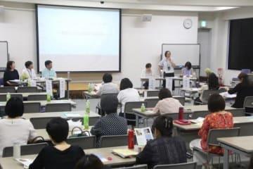 相談事例について情報を共有した「よりそいホットライン」の中国ブロック報告会