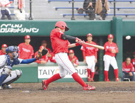 都市対抗野球の全国出場を果たした日本製鉄室蘭シャークス