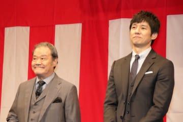 素敵な2人…西田敏行と西島秀俊
