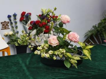 第12回中国・北東アジア博覧会で、小原流華道を実演 吉林省長春