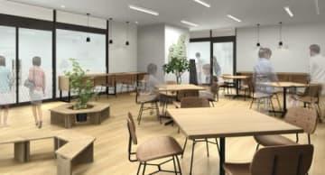 新たに開設される「うおぬま・浦佐駅観光案内所MYU(ミュウ)」のイメージ図(南魚沼市提供)