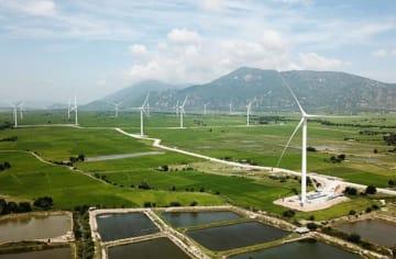 アボイティス・パワーが買収するダムナイ風力発電所=ニントゥアン省(同社提供)