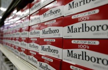 紙巻きたばこ「マルボロ」(AP=共同)