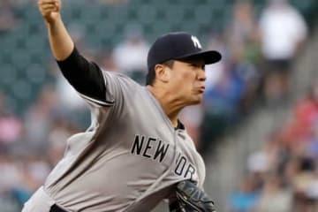 今季10勝目を挙げたヤンキース・田中将大【写真:AP】