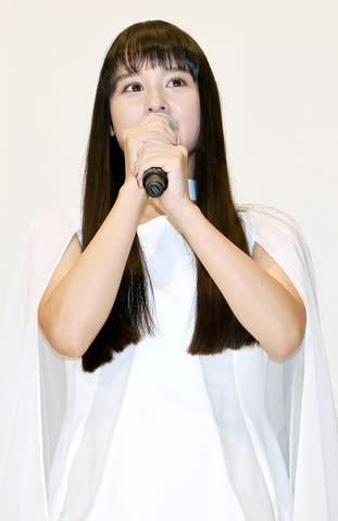 バトンタッチイベントに登場した「仮面ライダージオウ」のツクヨミ役の大幡しえりさん