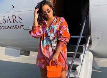 Demi Lovato Takes A Sober Trip To Vegas