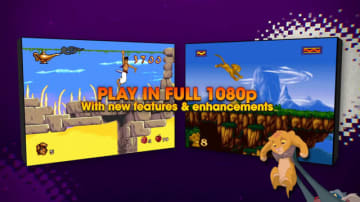 16ビット時代のゲーム版『アラジン』『ライオン・キング』が現世代機で復活!『Disney Classic Games』発表