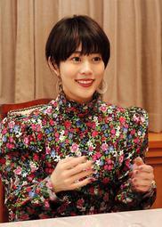 「難しい役でしたが、出会えてよかった」と話す高畑充希さん=姫路城迎賓館
