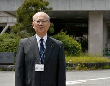 60代で司法試験に合格し、修習生となった粟野和之さん=山形地裁