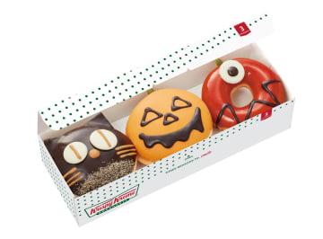 秋の味覚のハロウィーンドーナツ