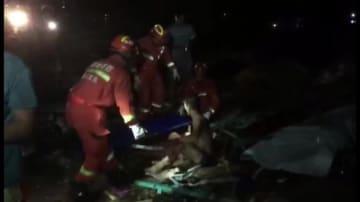 海南省儋州市で竜巻発生 宿舎倒壊で8人死亡、2人重軽傷