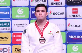 世界選手権で銅メダルを獲得した今年の全日本王者のウルフ・アロン