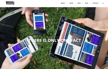 解散を発表した「日本報道検証機構」のサイト