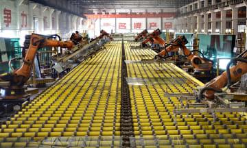 8月の中国製造業PMI、49・5に低下