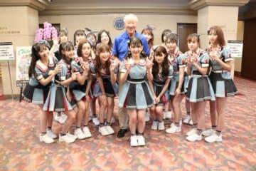 青木功会長は本日77歳!喜寿を迎えても元気!(提供・日本ゴルフツアー機構)
