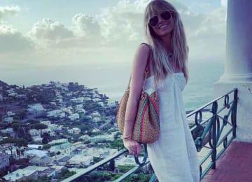 Heidi Klum & New Husband Tom Kaulitz Honeymoon In Capri, Italy