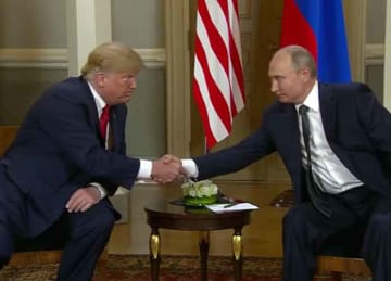 Trump and Putin meet in Helsinki, Finland on July 16, 2018