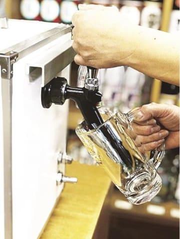 貸し出しを開始したビールサーバー