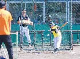 リアル野球盤で熱戦を繰り広げる選手