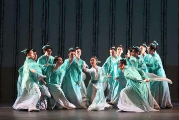 中国の舞踊劇「梁祝」、サンフランシスコで上演
