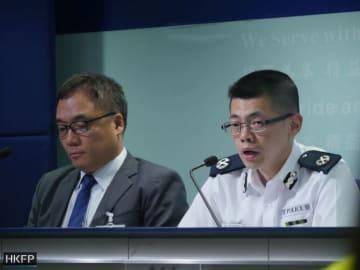 From left: Steve Li Kwai-wah, Mak Chin-ho. File photo: Holmes Chan/HKFP.