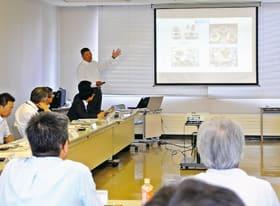 生産性向上や技術の高度化などをテーマに事例紹介、意見交換した科学技術振興地域懇談会