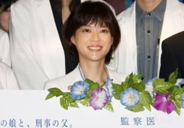 連続ドラマ「監察医 朝顔」で主演を務めている上野樹里さん