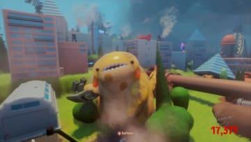 PS4『Dreams』に愛くるしい怪獣ACT「Ruckus: Just another natural disaster」が登場、破壊とギャップに癒やされる…