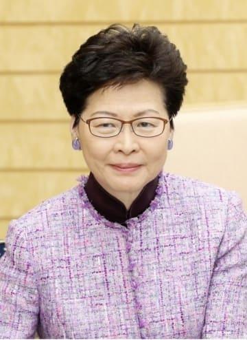 香港の林鄭月娥行政長官