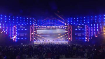 感動的なカヤグムの百人演奏 吉林省竜井市