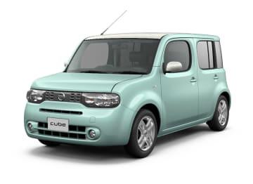 生産が終了する日産自動車の小型車「キューブ」