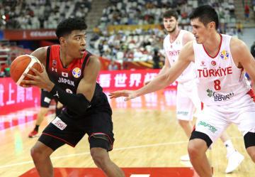 日本、バスケW杯初戦でトルコに敗戦