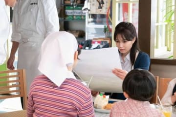 NHK連続テレビ小説「なつぞら」第136回の一場面(C)NHK