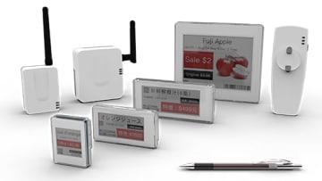 フジテックスの電子棚札システム「D-ESL」