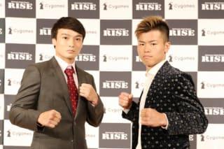 那須川(右)と志朗(左)がメインを締めくくる