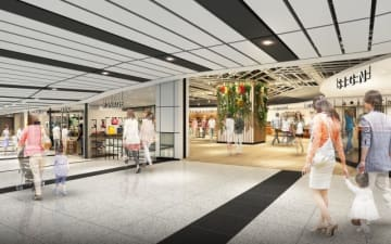 JR East plans to open retail spaces at Singapore's metro stations. (Images courtesy of JR East)