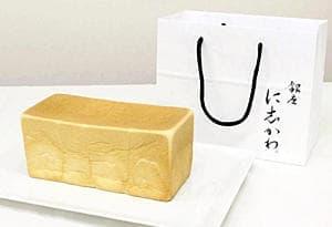 銀座に志かわの食パン