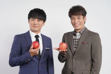「クイズ!あなたは小学5年生より賢いの?」でMCを務める劇団ひとりさん(左)と佐藤隆太さん=日本テレビ提供