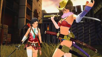 血みどろ剣戟アクション『お姉チャンバラORIGIN』12月5日発売決定!「彩」&「咲」の新衣装イラストも公開
